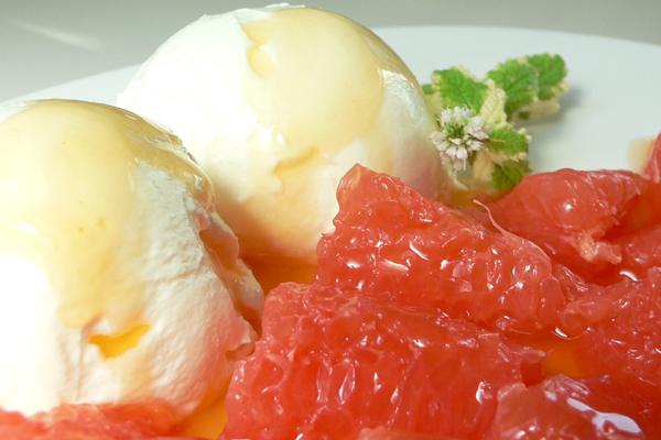 Grapefruit mit Karamellnote