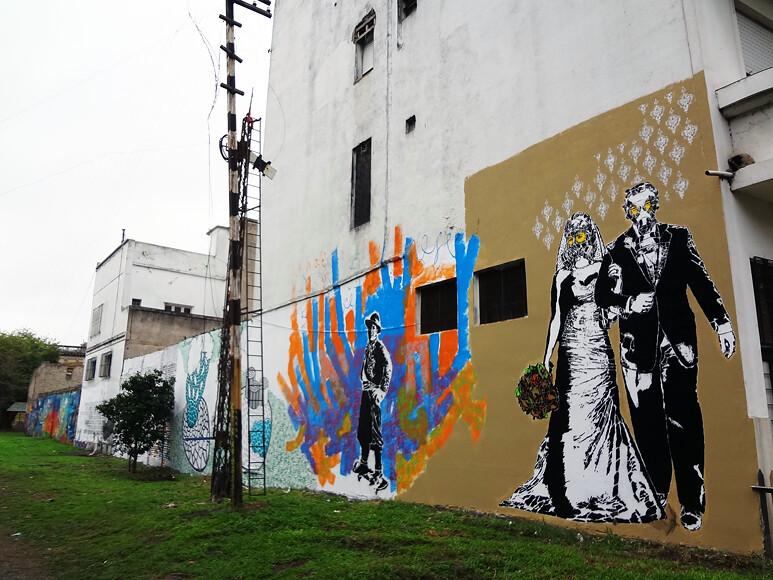 Stencil Land @ Garibaldi Pum