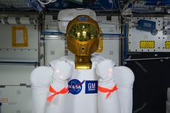 [フリー画像] 物・モノ, ロボット, 宇宙飛行士, 201108292300