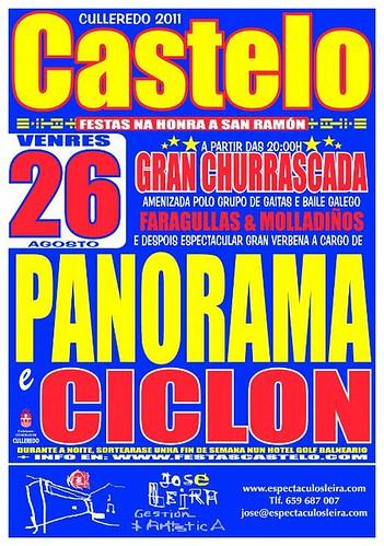 Culleredo 2011 - Festas de San Ramón en Castelo - cartel venres