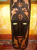 A mask souvenir sold at Palawan Wildlife Rescue and Conservation Center (Joanna Jane Liwag) Tags: puertoprincesa palawan butterflygarden crocodilefarm bakershill plazacuartel mitrasranch palawanwildliferescueandconservationcenter palawancitytour