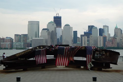9/11 Memorial in Downtown Jersey City