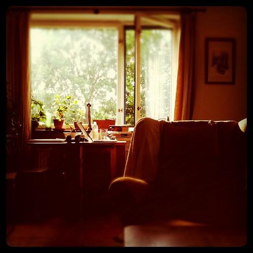 Fint hemma hos Erik och Tanne.