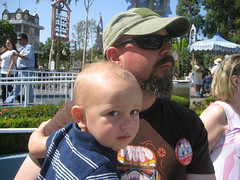 Daddy is stoic about Small World, Logan is cautious.