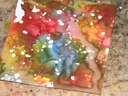 Pigment Ink Mist - Masking Fluid 002