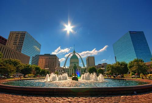 St. Louis Sunrise by DisHippy