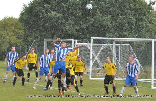 Cliffe FC 2 - 0 Innter Crown (Selby Cup Final) 27Aug11