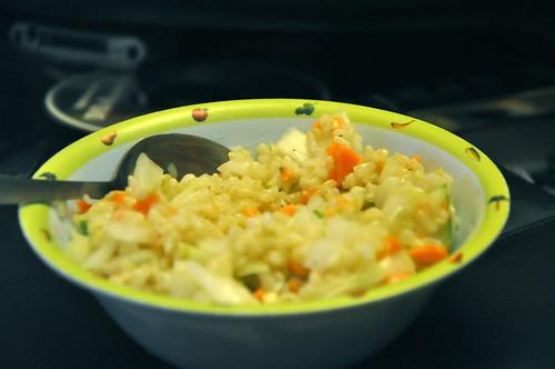 Disaster Rice Tabbouleh
