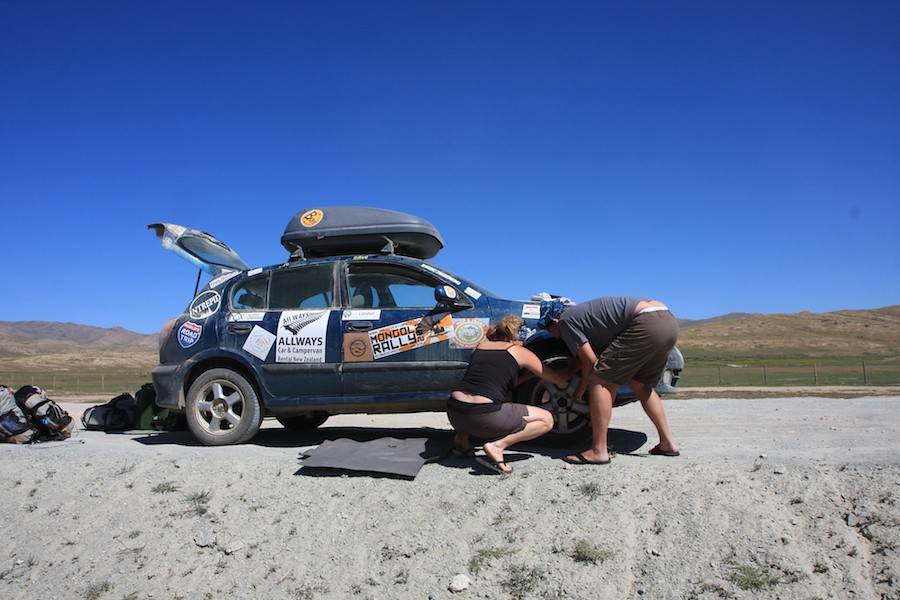 car troubles on the mongol rally