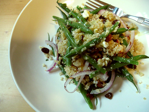 Green bean quinoa
