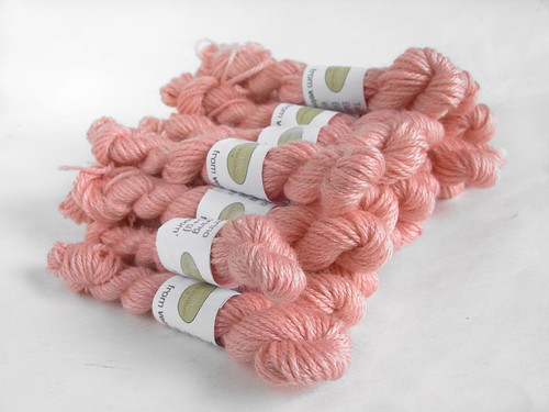 Sending out wee skeins into the world...