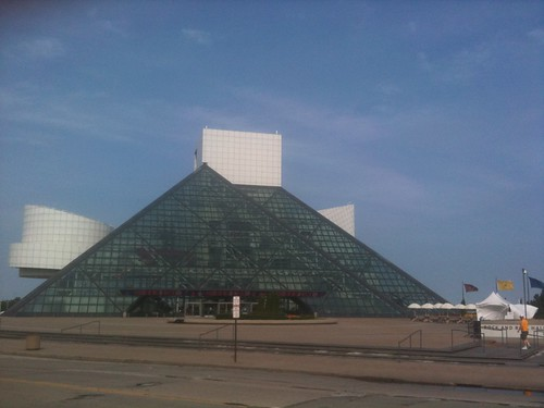 Rock and Roll Hall of Fame and Museum, en Cleveland