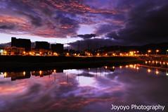 (joyoyo) Tags: sunrise river nikon taiwan tokina pro af  1224mm f4 keelung dx atx    d90 tokinaatx124afprodx1224mmf4 joyoyo tokinat124