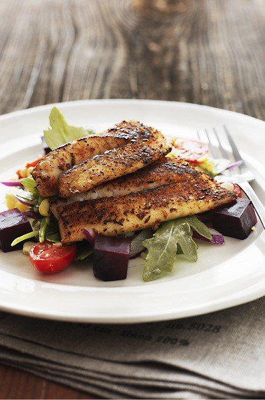 6 Fourfoodies-Blackened Fish Idea