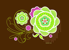 Green and Pink Geometric Flower Blossoms (shaire productions) Tags: pink flowers ladies brown flower green art geometric nature floral girl leaves shirt kids female illustration digital computer flow design leaf artwork graphics colorful graphic blossom girly feminine decorative crafts arts shapes style artsy round illustrator draw drawn shape simple decor leafy tee rounded vector stylized circular apparel imagery graphical illustrate natureinspired sherriethai shaireproductions