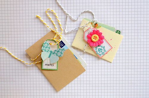 DIY gift card slips by CloudsShadler