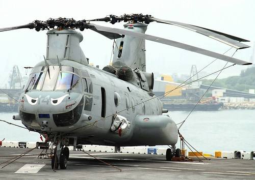 Boeing Vertol | CH-46E | Sea Knight | 154005 | United States Marine Corps (USMC) | Hong Kong | China