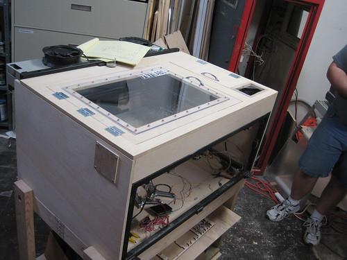 Laser engraver encased
