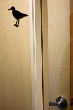 Twitter door bird