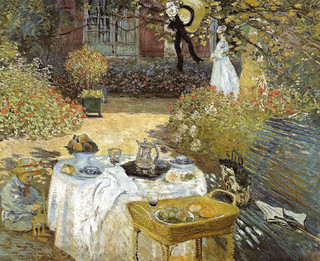 Claude Monet - The Luncheon, 1873 at Musée d'Orsay Paris France