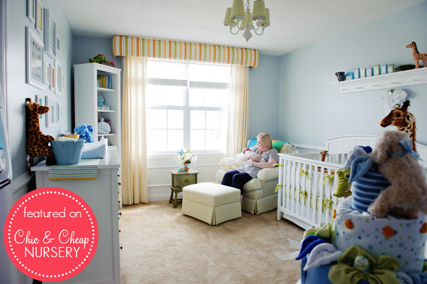 Classic Powder Blue Boy Nursery