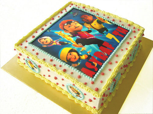 Birthday Cake Edible Image: BoboiBoy