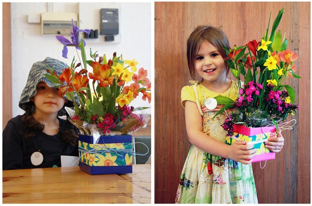Floral Arrangement For Children Workshop with Make Merry