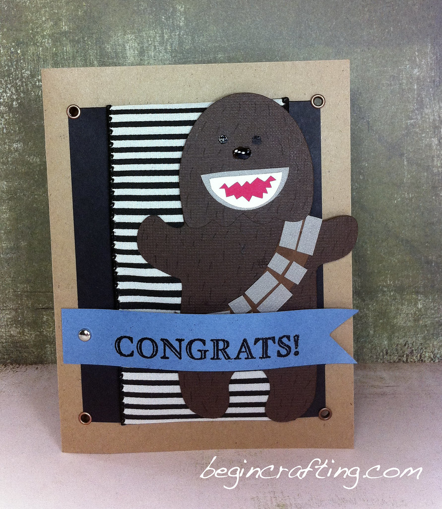 Hademade Wookie Card