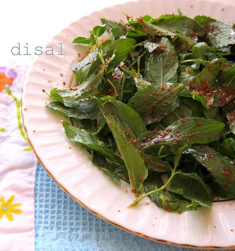 nane salatası