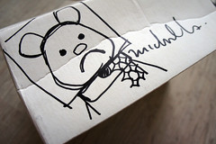 White SFBB Box - Michael Lau Drawing (Fuuuuuunk) Tags: bear white art toy michael 26 5 sony nike sample custom rare lau signed sfcc toyz nex sfbb artoyz artoys nex5