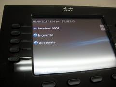 Telefono conectado exitosamente a Elastix