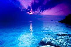 [フリー画像] 自然・風景, 海, 海岸, ブルー, マレーシア, 201109091900