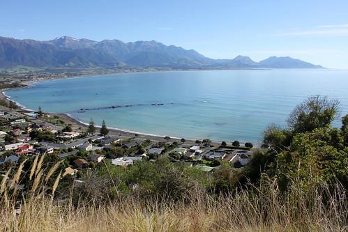 New Zealand: Overlooking Kaikoura