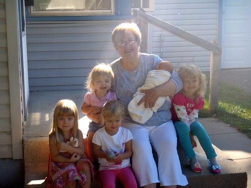 Grandma Cynthia and her girls :-)