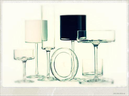 Karl Lagerfeld's Glassware for Orrefors©