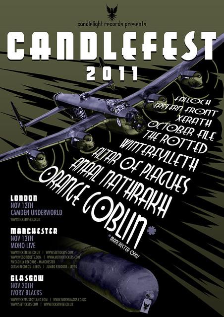 Candlefest 2011 gig listings