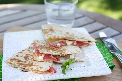 Caprese Quesadilla Recipe LS