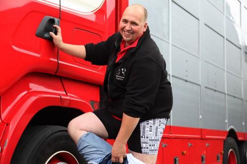 Trucker van Kuuss.nl