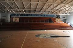 Watauga Pioneers..... Abandoned (STEEZYSLOTH) Tags: old building abandoned nc scary science creepy spooky pioneers wataugahighschool steezysloth robmosca gymnasiumsteezyslothcanon60drobmosca
