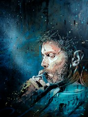 C215 - Portrait of Jon Cartwright (C215) Tags: streetart art french graffiti stencil christian pochoir masacara szablon c215 schablon gumy piantillas