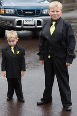 Ring Bearer and Best Man (Craig Dyni) Tags: wedding boy colin ringbearer finn dyni