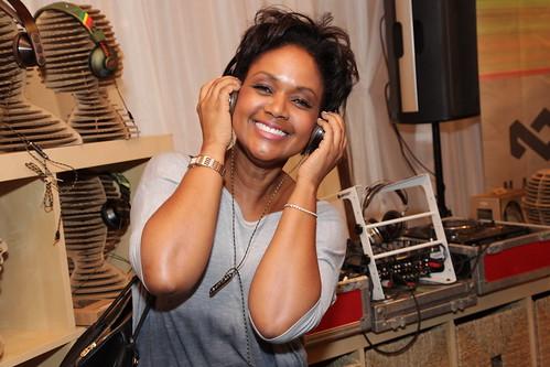 Tonya Lee Williams enjoys House of Marley headphones