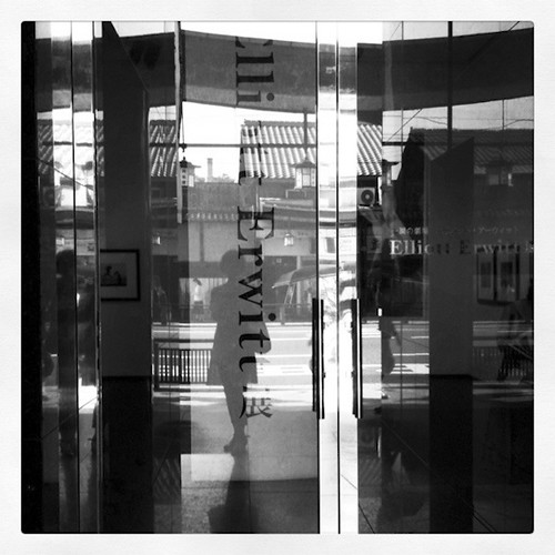 Reflection @Elliott Erwitt Exhibition