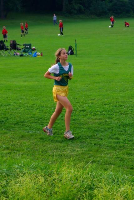 Izzy running 09/08/2011
