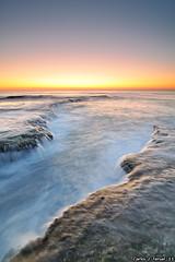 Waterfalls in a boring sunrise (Carlos J. Teruel) Tags: españa marina sunrise mar nikon mediterraneo paisaje alicante amanecer waterfalls torrevieja d300 2011 cabocervera tokina1116 xaviersam singhraydarylbensonnd3revgrad onlyraw singhraynd3revgrad