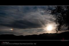 Contraluz (scarabaeus sacer) Tags: españa naturaleza andalucía spain 9 cielo almería rodalquilar 2011 parquenaturalcabodegataníjar a3b nikond300 jatm64