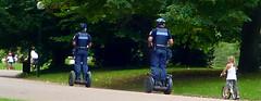 Police municipale lyonnaise en Segway
