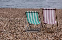 Brighton Beach Chairs, England