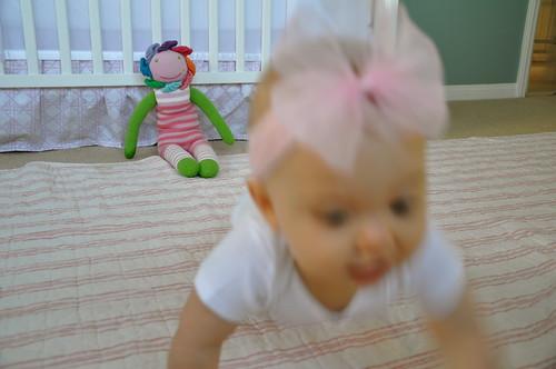 EBD crawling away Sept 2011