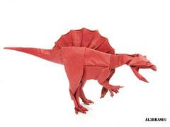 Spinosaurus (Al3bbasi.) Tags: origami dinosaur kamiyasatoshi spinosaurus al3bbasi